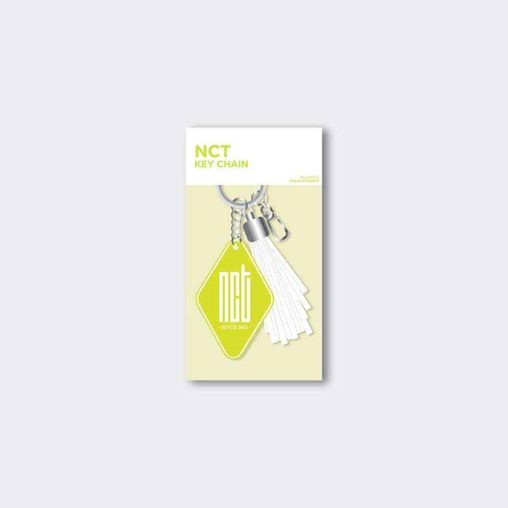 MUSIC PLAZA Goods NCT LEATHER TASSEL KEYCHAIN [ OFFICIAL MD ]