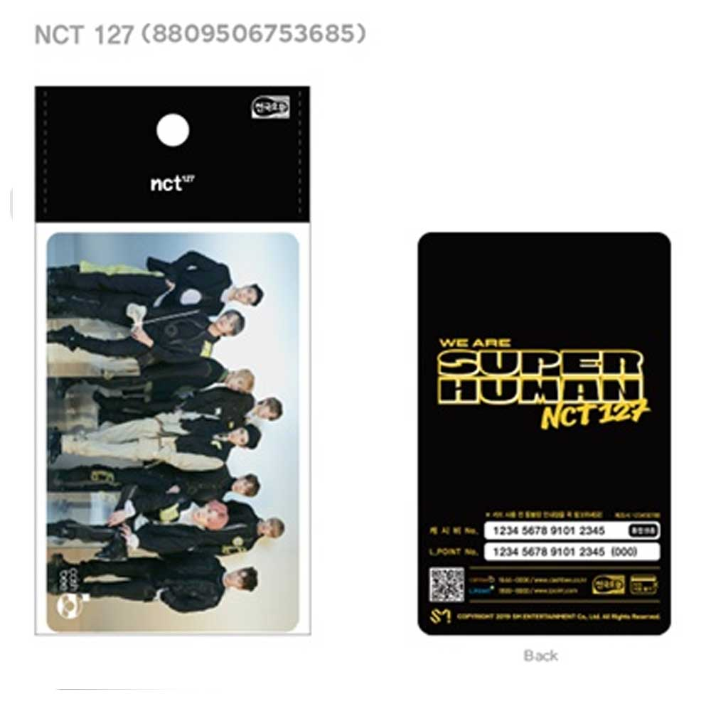 [ NCT 127 ] Korea Traffic Card * Cashbee