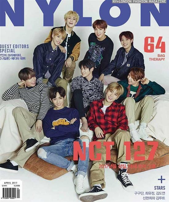 MUSIC PLAZA Magazine NYLON</strong><br/>2017-4<br/>