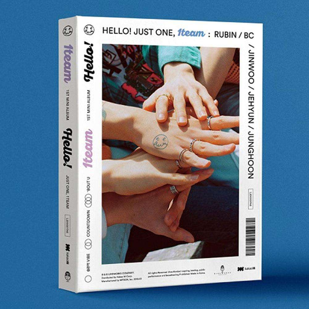 원팀 | 1TEAM 1ST MINI ALBUM [ HELLO! ]