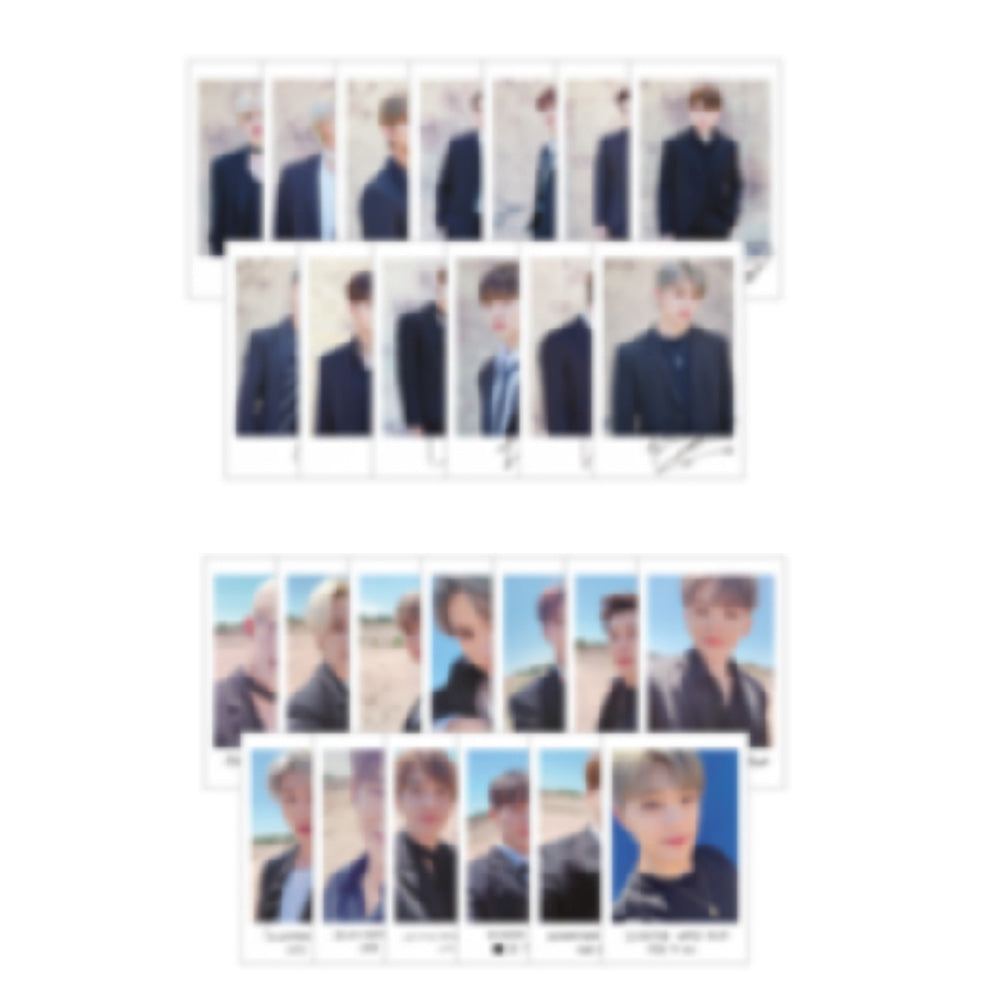 SEVENTEEN [ POLAROID PHOTO SET ] 2019 WORLD TOUR [ ODE TO YOU ]