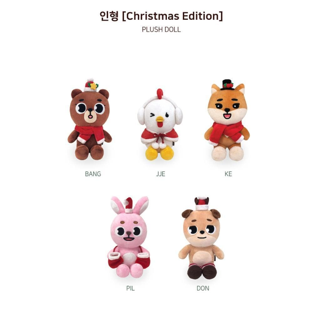 MUSIC PLAZA Goods SUNGJIN(BANG) DAY6 [ PLUSH DOLL- WINTER EDITION ] The Present - Christmas Special Concert MD