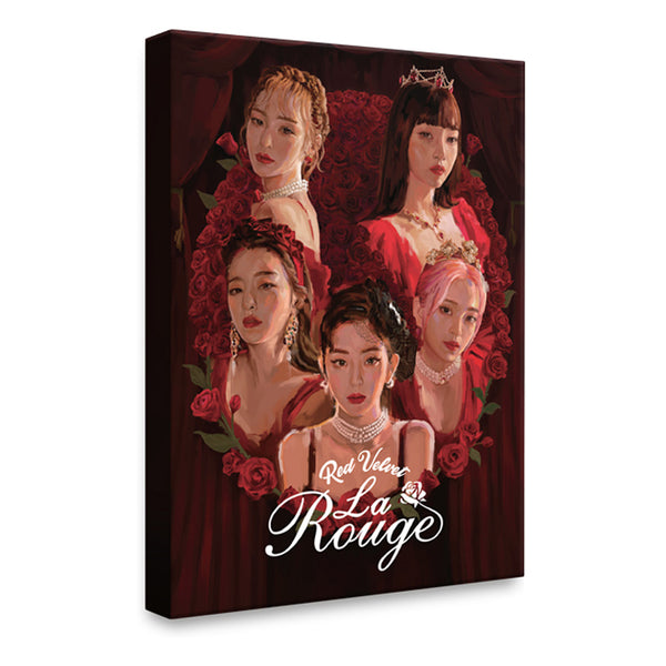 RED VELVET [ HARD COVER POSTCARD SET ] La Rouge CONCERT GOODS