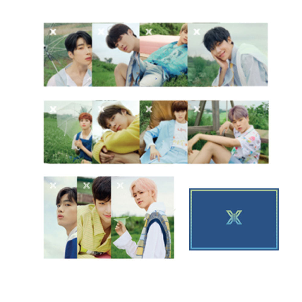 X1 PREMIER SHOW-CON OFFICIAL GOODS [  POST CARD SET ]