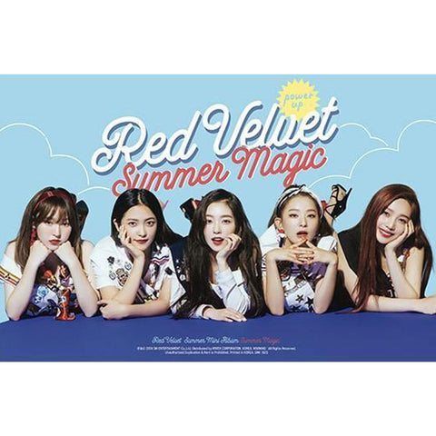 레드벨벳 | Red velvet | summer magic | poster