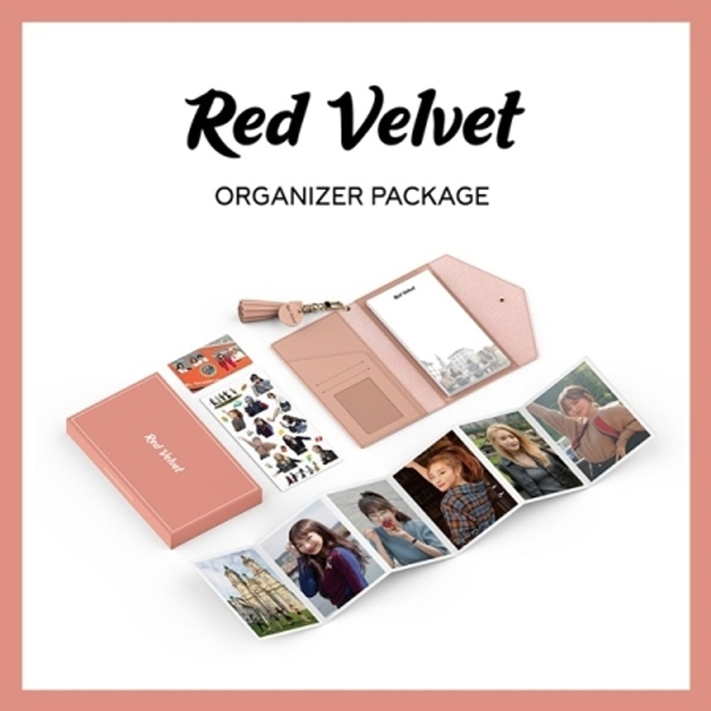 RED VELVET ORGANIZER PACKAGE- LIMITED EDITION