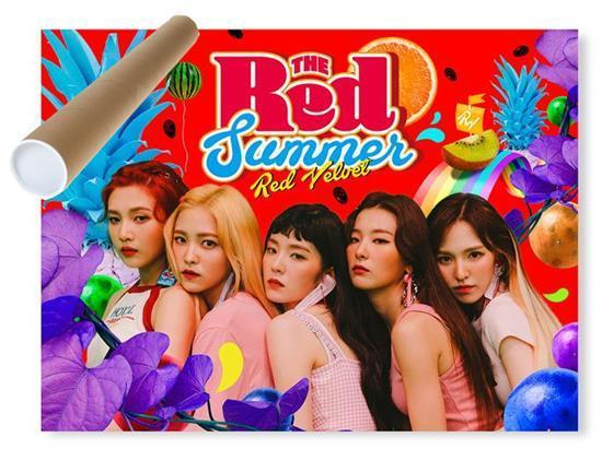 MUSIC PLAZA Poster Red Velvet | 레드벨벳 | THE RED SUMMER | POSTER ONLY