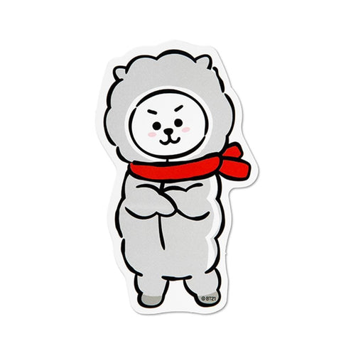 WINTER BT21 [ RJ ] MESSAGE CARD