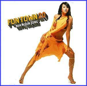 김현정 Kim, Hyunjung Fun Town 20-Dance remake album