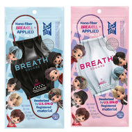 BTS TINYTAN |  BREATH SQUARE MASK | 3PCS in PACK