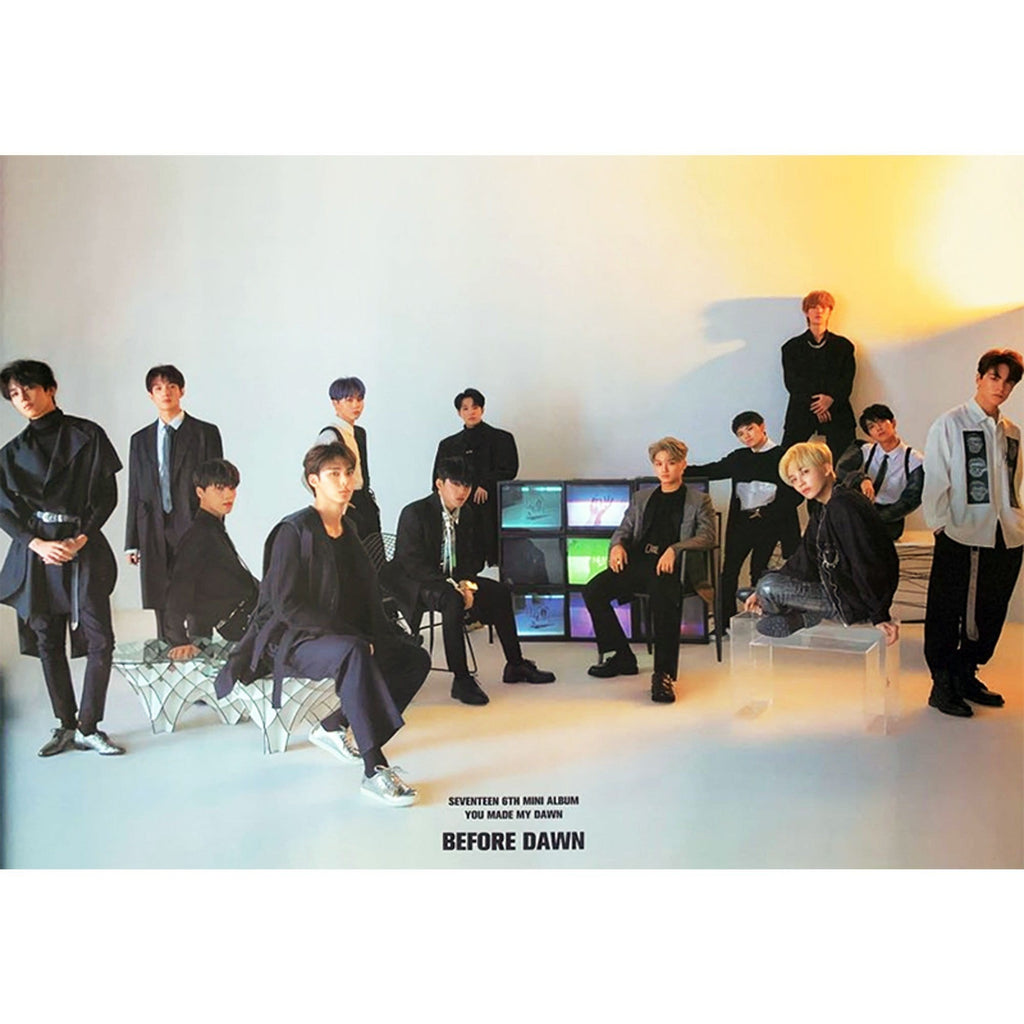 MUSIC PLAZA Poster A. before daum .ver 세븐틴 | SEVENTEEN | 6TH MINI ALBUM -  YOU MADE MY DAWN | POSTER