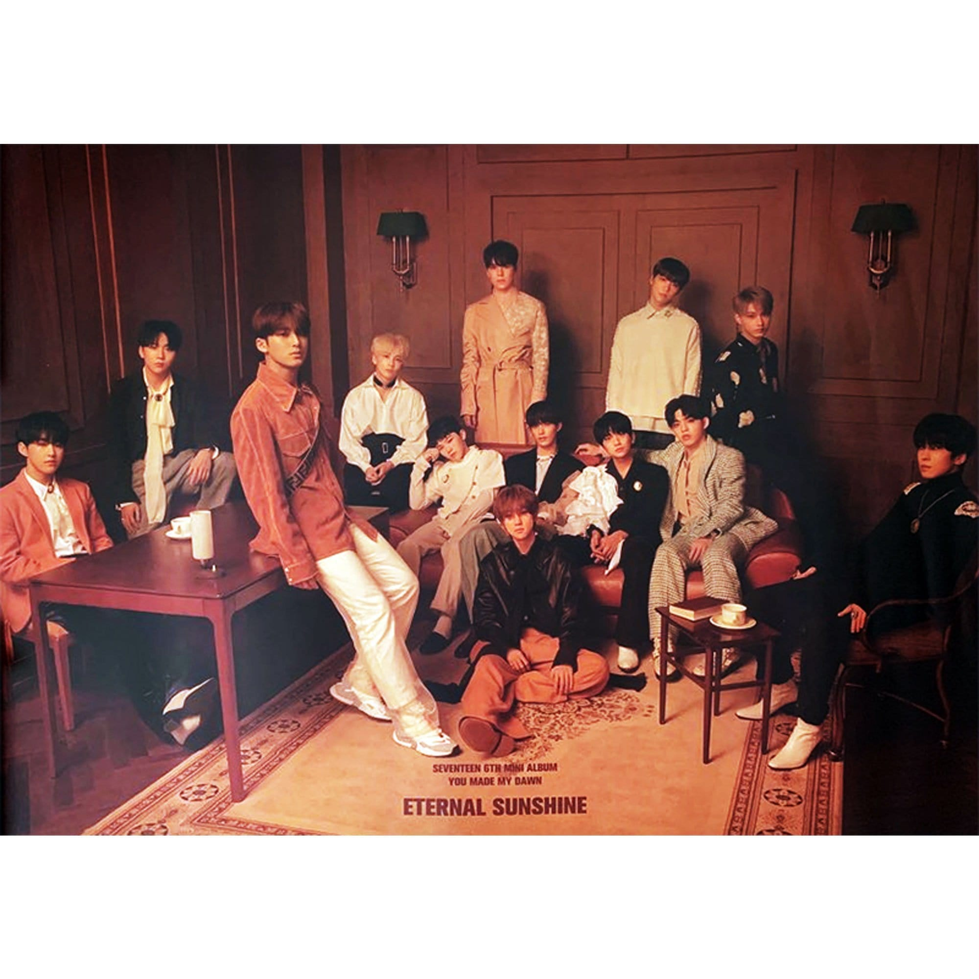 세븐틴 | SEVENTEEN | 6TH MINI ALBUM -  YOU MADE MY DAWN | POSTER