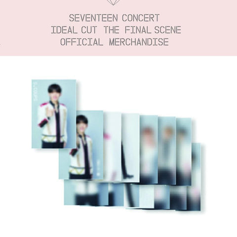 SEVENTEEN TRADINGCARD SET [ IDEAL CUT THE FINAL SCENE MD ]
