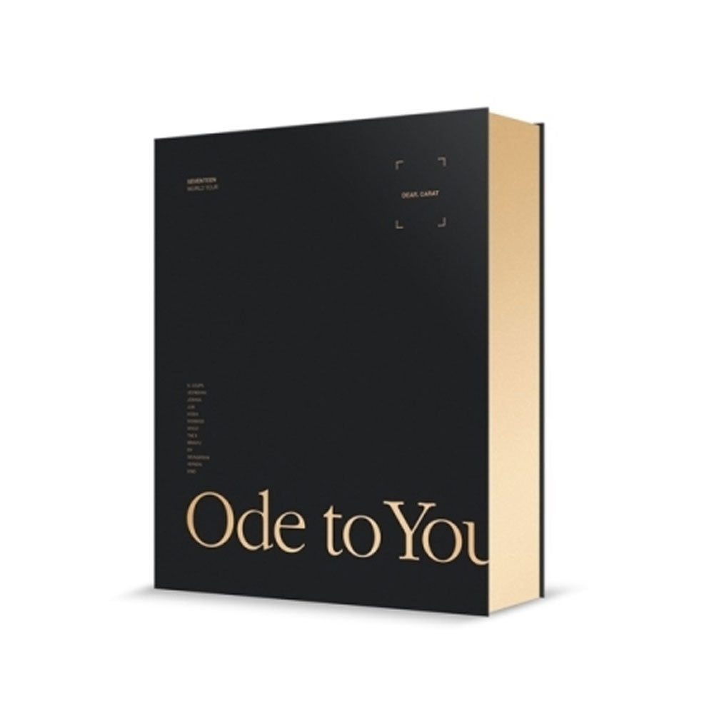 SEVENTEEN [ WORLD TOUR  'ODE TO YOU' IN SEOUL ] DVD