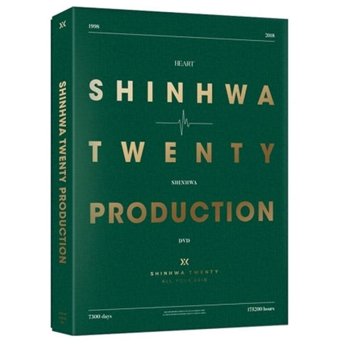 SHINHWA 20TH ANNIVERSARY PRODUCTION DVD