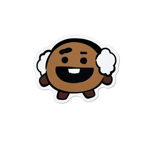 WINTER BT21 [ SHOOKY ] MESSAGE CARD