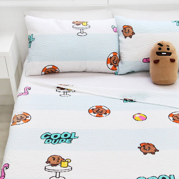 BT21 OFFICIAL RIPPLE BLANKET [ YUMMY SHOOKY ]