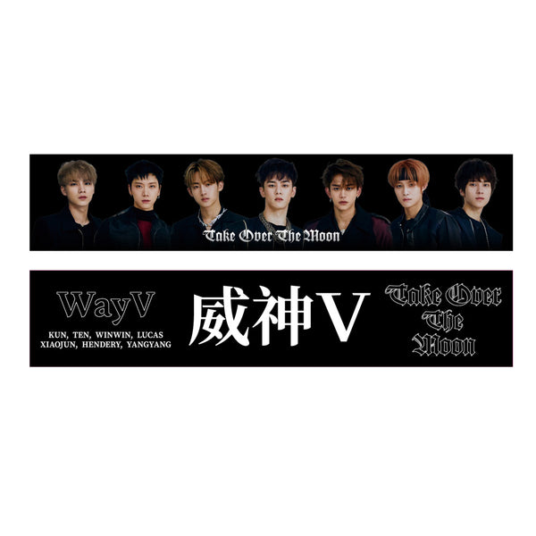 WayV [ TAKE OVER THE MOON ] SLOGAN TOWEL+PVC POUCH