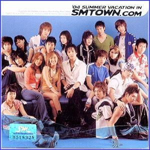 MUSIC PLAZA CD VA/SM Town | 8집-2004 Summer Vacation In Smtown.Com