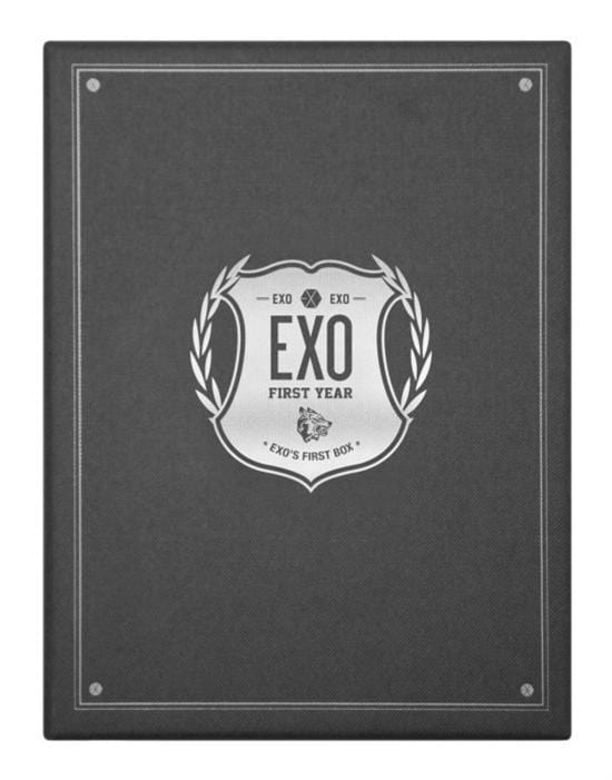 MUSIC PLAZA DVD EXO | 엑소 | Exo's First Box DVD [4 Disk]