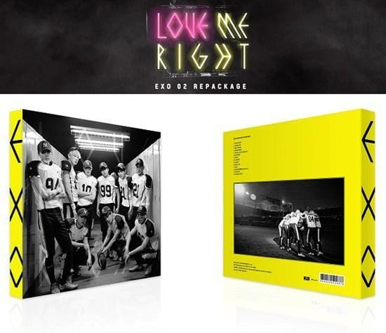 MUSIC PLAZA CD EXO | 엑소 | 2nd Album Repackage - Love Me Right [KOREAN Ver]