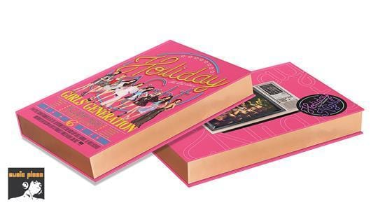 MUSIC PLAZA CD ALL NIGHT VER. Girls' Generation (SNSD) | 소녀시대 | 6TH ALBUM - HOLIDAY NIGHT