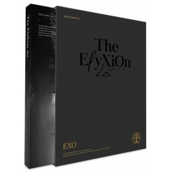 MUSIC PLAZA Photo Book 엑소 | EXO PLANET #4 -THE EℓYXION [ DOT ] 2CD+PHOTO BOOK