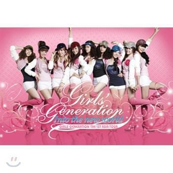 MUSIC PLAZA DVD Girls' Generation | 소녀시대 | SNSD | The 1st Asia Tour : Into The New World</strong><br/>소녀시대<br/>SNSD