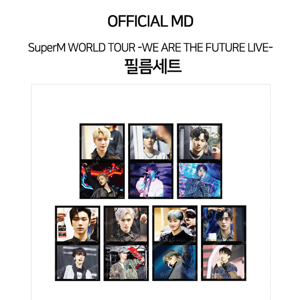 SUPERM  WORLD TOUR -WE ARE THE FUTURE LIVE [ FILM SET ]