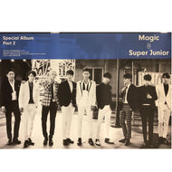 SUPER JUNIOR | 슈퍼주니어 | Special Album PART.2 - MAGIC SUPER JUNIOR POSTER