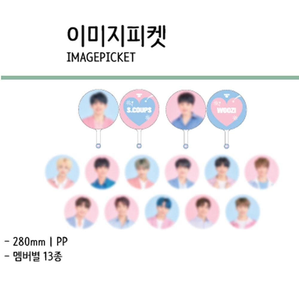 SEVENTEEN in CARAT LAND [ IMAGE PICKET ] 2019 SVT 3RD FAN MEETING OFFICIAL MD
