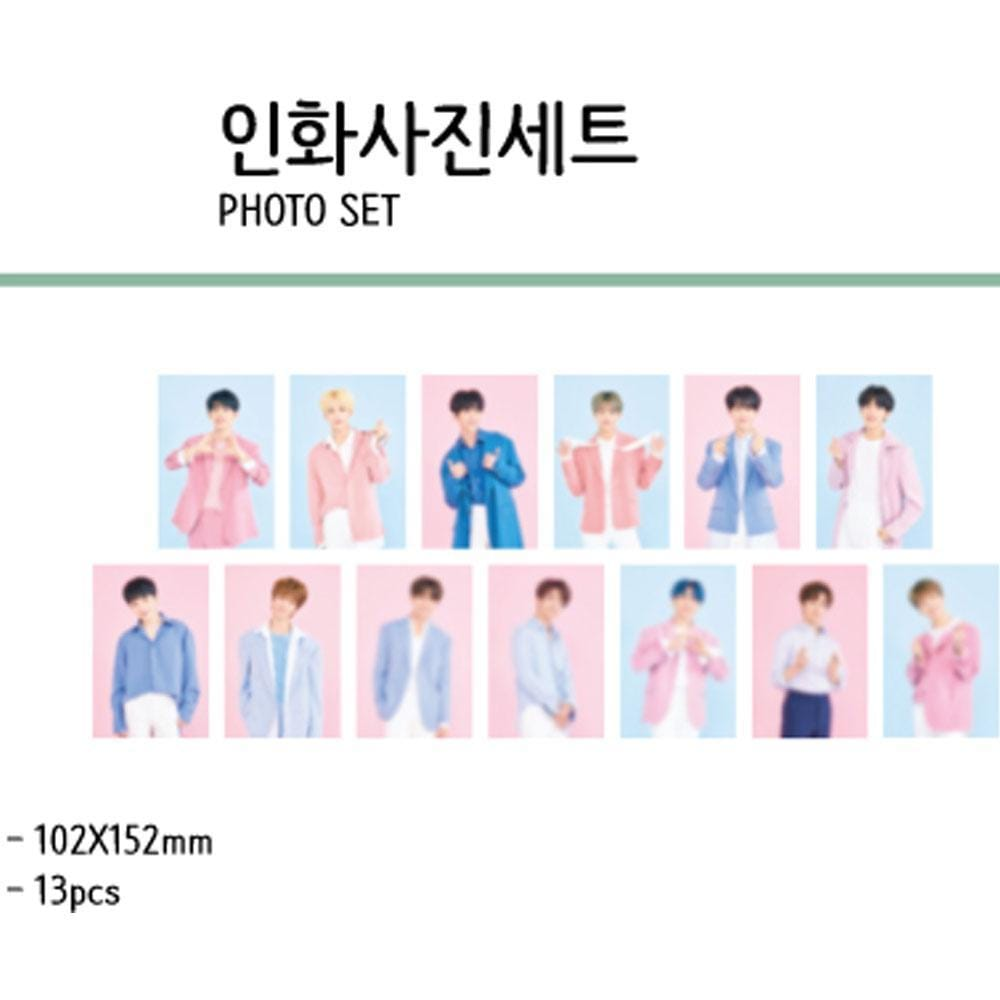 MUSIC PLAZA Goods SEVENTEEN in CARAT LAND [ PHOTO  SET ] 2019 SVT 3RD FAN MEETING OFFICIAL MD