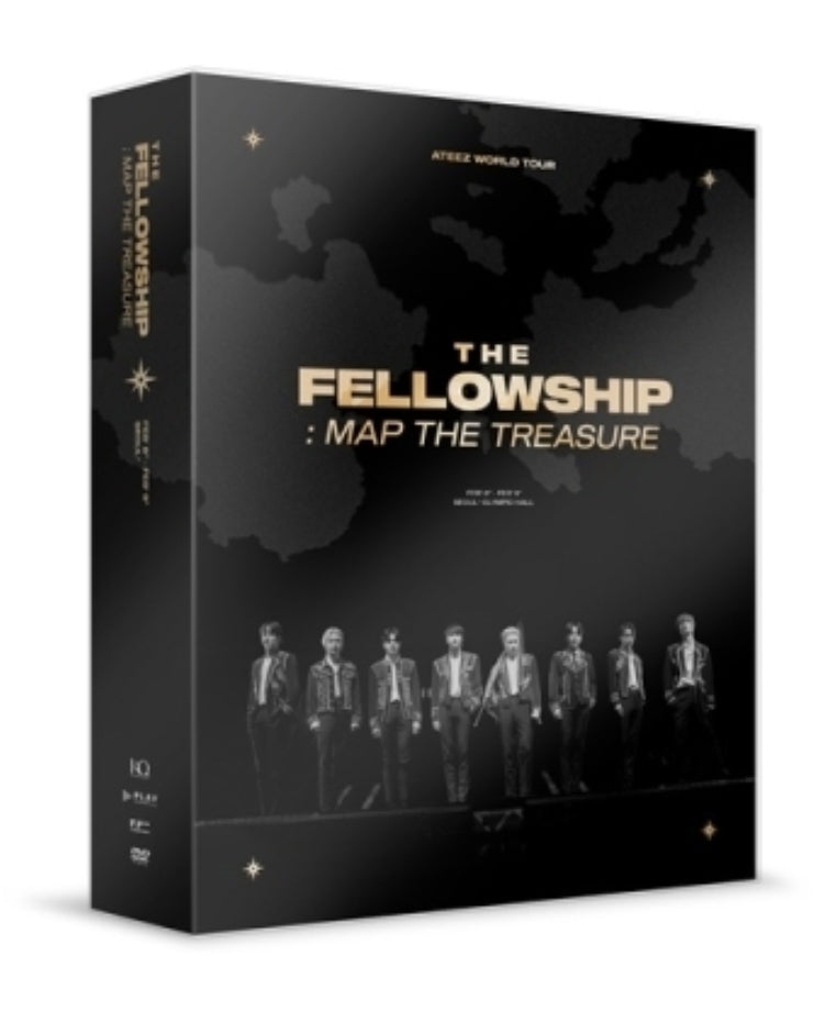 ATEEZ WORLD TOUR THE FELLOWSHIP : MAP THE TREASURE SEOUL DVD & ATEEZ
