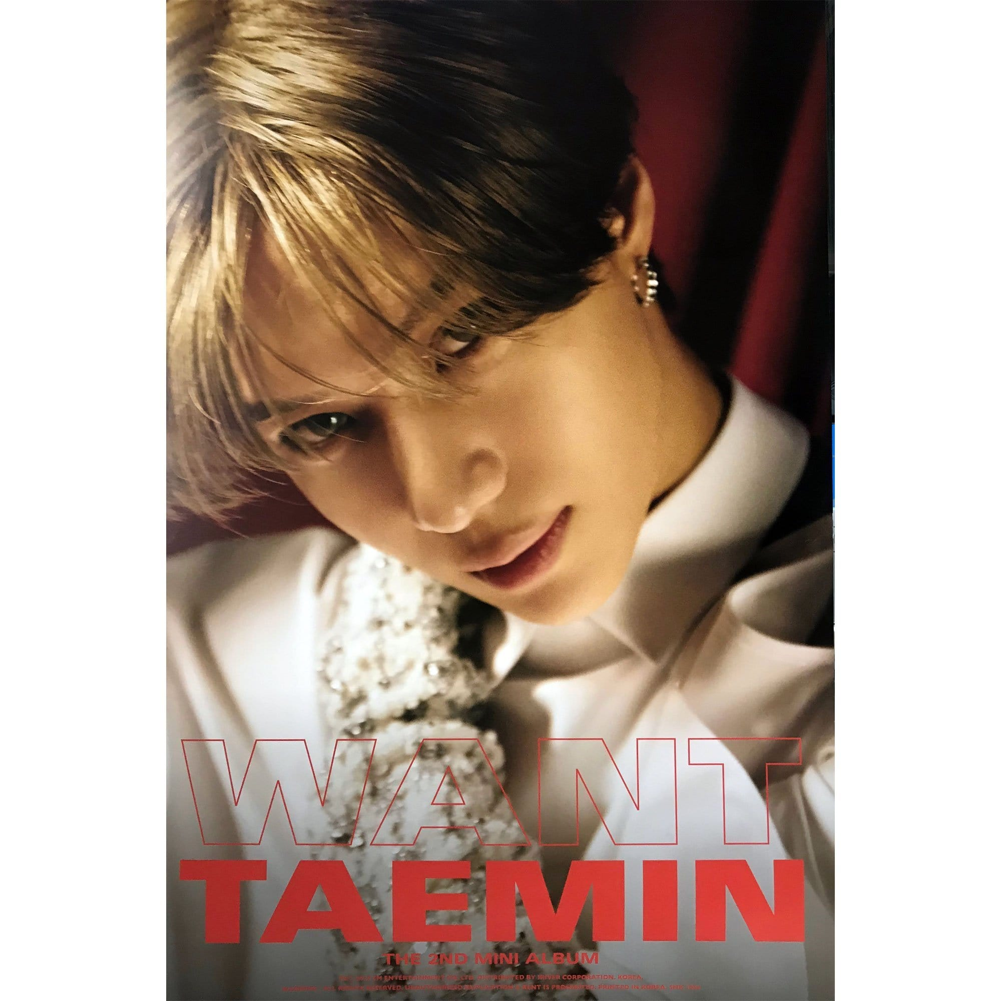 TAEMIN | 태민 | 2ND MINI ALBUM | POSTER