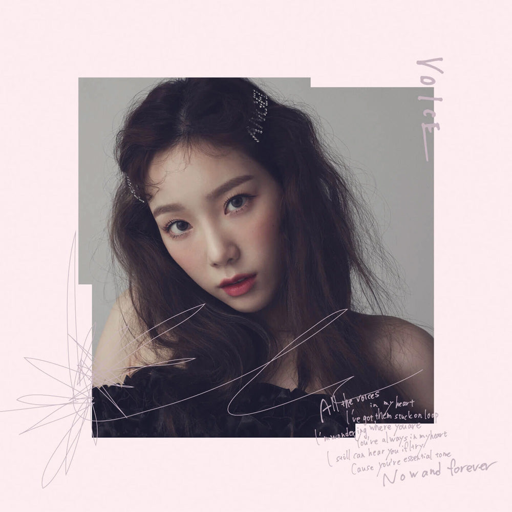 TAEYEON [ VOICE ] JAPANESE ALBUM
