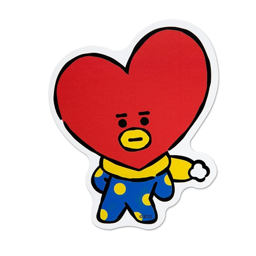 WINTER BT21 [ TATA ] MESSAGE CARD