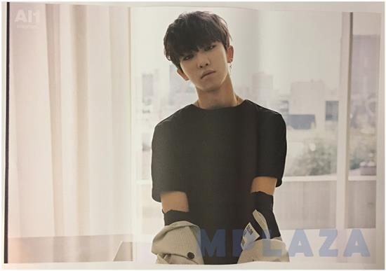 MUSIC PLAZA Poster 디에잇 / 세븐틴 | THE8/ SEVENTEEN<br/>4TH MINI ALBUM AL1</br><font size=2 color=blue>UNFOLDED POSTER</font>