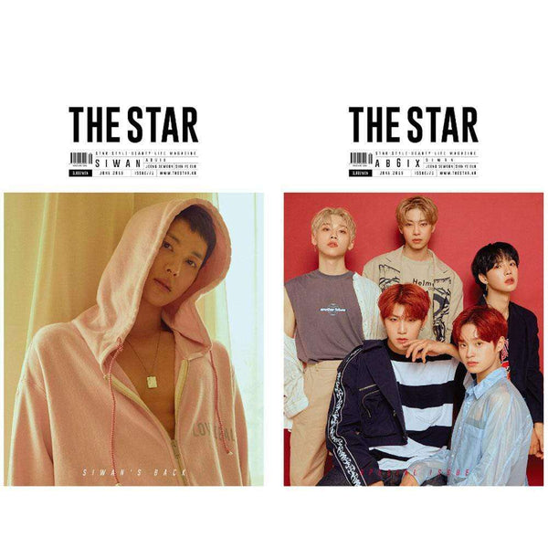 MUSIC PLAZA Magazine THE STAR 2019-6 | KOREA MAGAZINE [ COVER- SIWAN, AB6IX ]