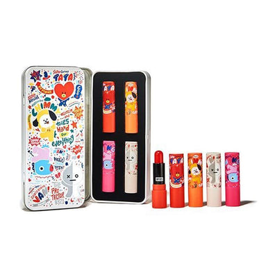 BT21* OLIVE YOUNG GENTLE BREEZE TINT LIP BALM KIT [ TATA,CHIMMY,MANG,VAN ]