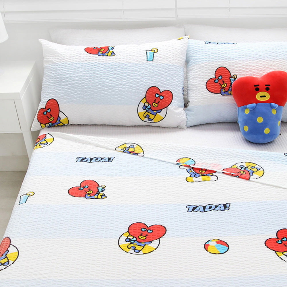BT21 OFFICIAL RIPPLE BLANKET [ CURIOUS TATA ]