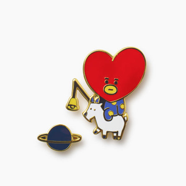 BT21 UNIVERSTAR BADGE SET | 2PCS