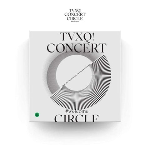 동방신기 | TVXQ [ TVXQ! CONCERT -CIRCLE- #welcome ] DVD