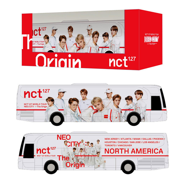 NCT 127 [ MINIATURE  NEO CITY TOUR BUS ] OFFICIAL MD