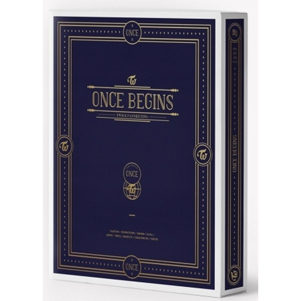 MUSIC PLAZA DVD TWICE FANMEETING  [ ONCE BEGINS ] BLU-RAY