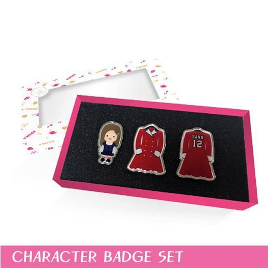 MUSIC PLAZA Goods Twice | 트와이스 | THE OPENING ENCORE CONCERT GOODS<br/>CHARACTER BADGE SET