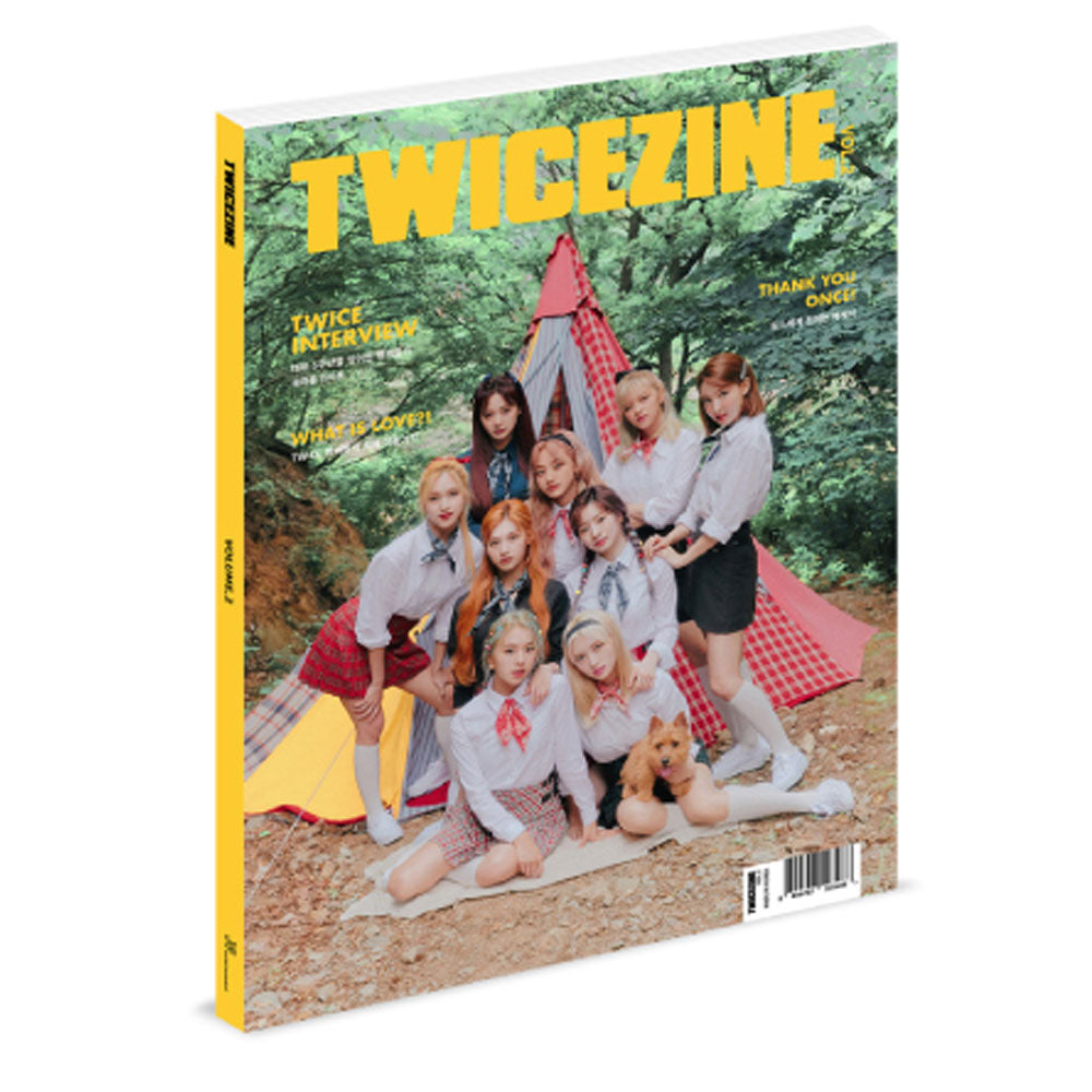 TWICE [ TWICEZINE VOL.2 ] 5TH ANNIVERSARY OFFICIAL MD