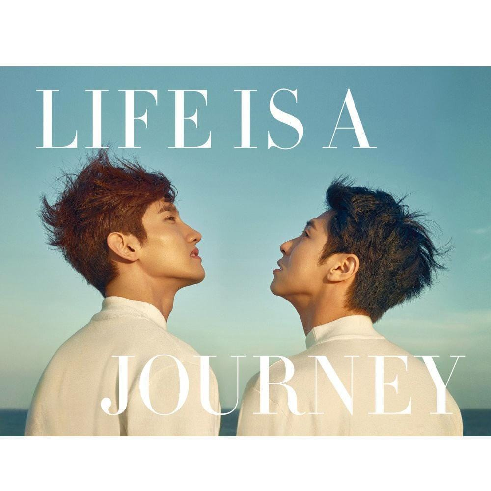 동방신기 | TVXQ PHOTOBOOK [ LIFE IS A JOURNEY ] + MAKING DVD