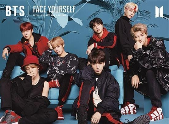 MUSIC PLAZA DVD BTS | 방탄소년단 | FACE YOURSELF - TYPE A-CD + BLU-RAY