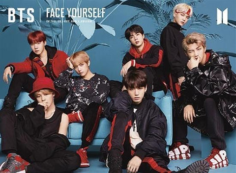 BTS | 방탄소년단 | FACE YOURSELF - TYPE A-CD + BLU-RAY