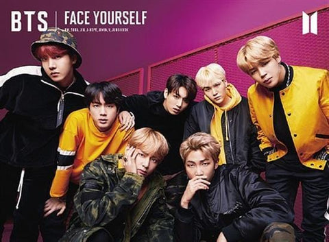 BTS | 방탄소년단 | FACE YOURSELF TYPE B-CD+DVD